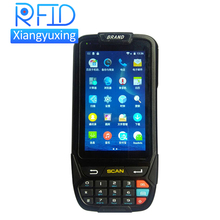 handheld android pda with 1d 2d barcode scanner / rfid nfc / camera / gps / rechargable battery