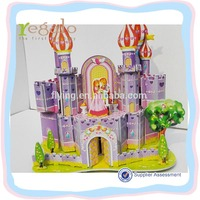 kids toys 3D jigsaw puzzles educational model DIY LFW330