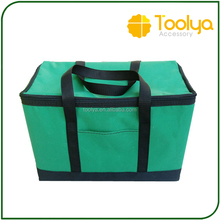 600D polyester folding insulation lunch cooler bag