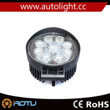 ROUND 27W LED SPOT PENCIL BEAM OFFROAD LAMP DRIVING WORK LIGHT 12V 24V 4WD