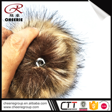 Newest ODM Faux homemade fur ball 2016 cheap tissue pom poms