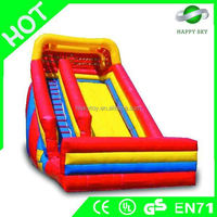 2016 crazing game!!!inflatable bouncer with slide,inflatable pool slide for sale,commerical inflatable slide
