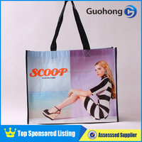 Fashion 80gsm recyclable non woven shopping bag