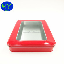 Best quality wedding favor mint tin box with window China supplier