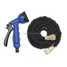 Black Garden Hose Layer Latex Rubber Water Pipe Hose