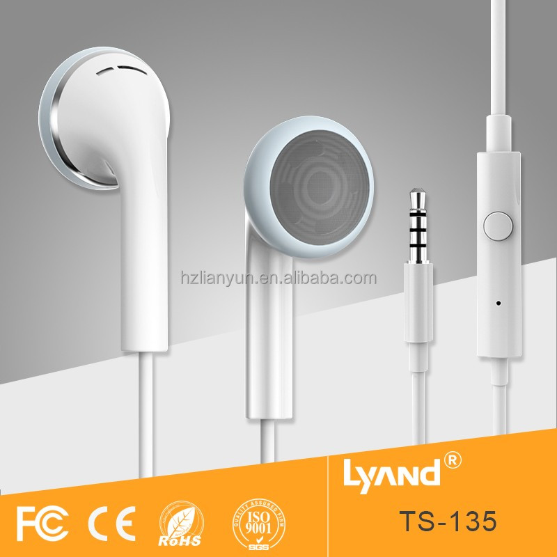 Handsfree earphones promotion mobile phone accessories factory in China