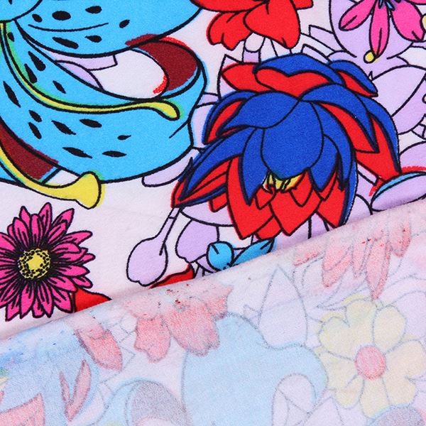 Hot sale 2017 100 polyester microfiber pigment print fabric for home textiles from China suppliers