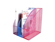 office supplier special metal mesh power coated file letter tray
