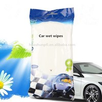 2015 HOT 70 pcs Disposable car cleaning items,cleaning car windshield wipes,car glasses wet wipes