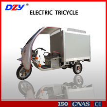 Delivery Tricycle With Closed Cargo Box
