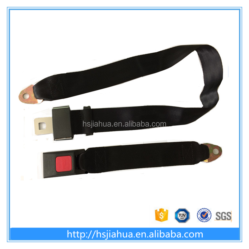 Guangzhou Polyester simple 2-point car accessories car safety seat belt