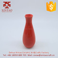Wholesale garden small round shaped ceramic tall flower pots vase