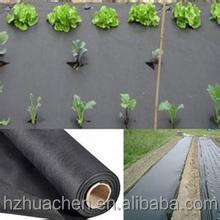 Alibaba China supplier black plastic non woven ground cover for greenhouse