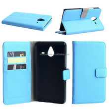 2015 new Wallet design leather flip cover case for nokia 640 XL