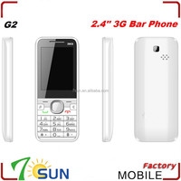 new product 2.4 inch 3g bar phone G2