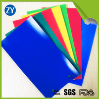 450GSM Flame Retardant PVC knife coated fabric for camping tarp