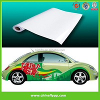 China top media supplier Eco-solvent ink Self Adhesive Vinyl (Bubble Free),Car sticker, Outdoor vinyl for car body decoration