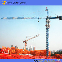 Chinese Tower Crane Manufacturer QTZ125-6015 10t Tower Crane