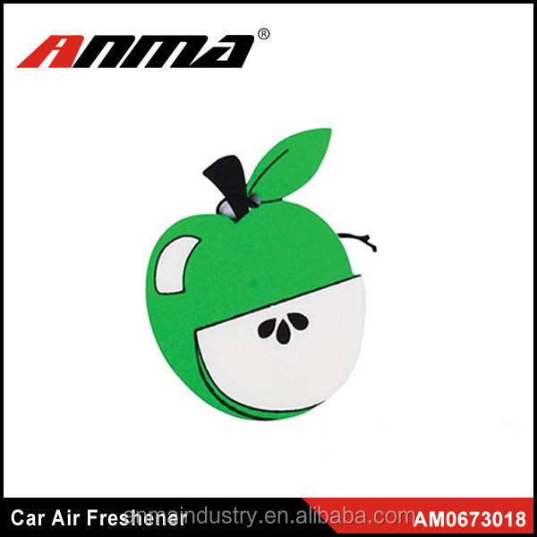 Natural and high quality car perfume/ paper car air fresheners