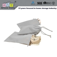 Widely used hot brand drawstring shoes storage bag