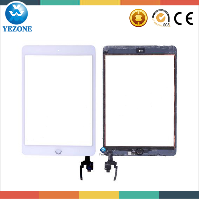 Hot Selling Touch Screen With Home Button And IC For Ipad Mini 3,Touch Panel For Ipad Mini 3 Touch Screen Assembly