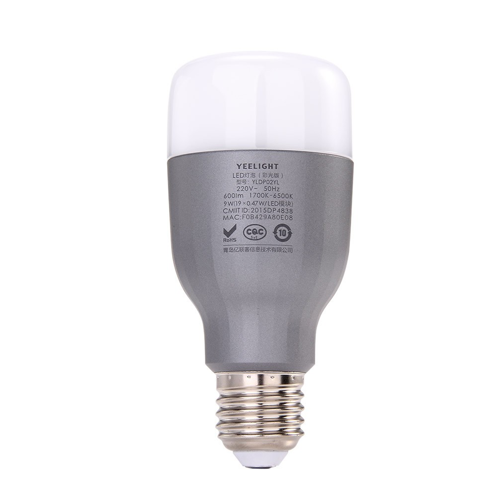 Original Xiaomi Yeelight LED Color Bulb Smart APP Control Color Changing LED Light Bulb