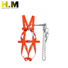 Men Climbing Fall Self Belt Back Support Full Body Safety Harnesses