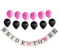 bachelorette balloons bride to be banner bachelorette party decorations kit