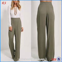 High Quality Ladies Loose Pajama Pants Women High Waist Trousers