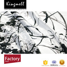 Elegant silk scarf wholesale china white silk scarf for painting