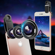 Glass lens Universal Detachable Clip-on Fish-Eye Lens for iphone camera lens