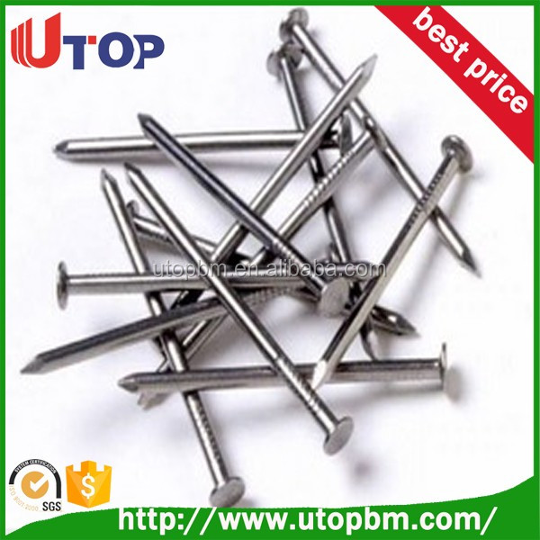 Common steel nail roofing nails with high quality