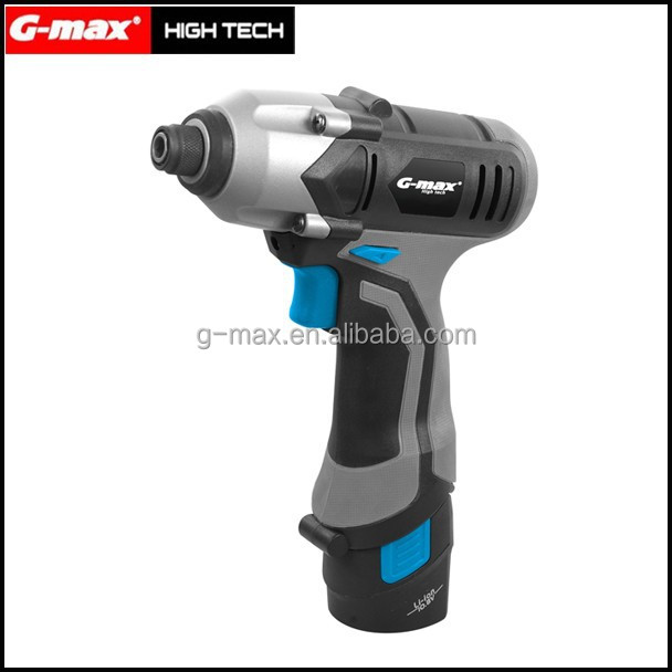 G-max 1300mah Li-ion 12V Cordless Wrench With LED Working Light GT33001