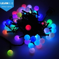 Multicolor holiday led solar led garland string light for decoration