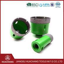 dry cutting diamond laser welded core drill bit for reinforced concrete