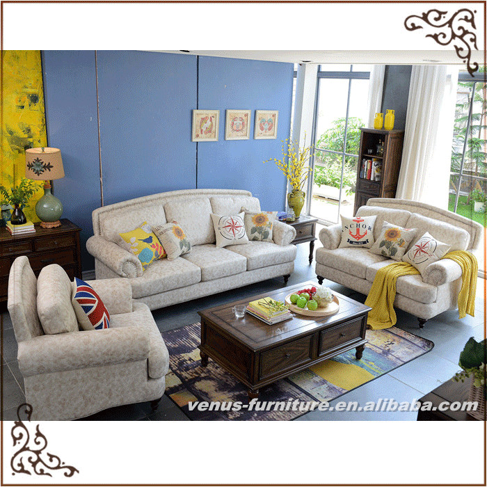 Hot Sale Sofas Fabric Design Living Room Furniture Sets Leathaire Cloth Sofa Set Pictures