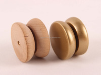 Wholesale 2016 hot sell natural wooden yoyo toy with best price for promotion