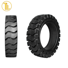 High performance press on solid tire wheel loader tires 20.5r25