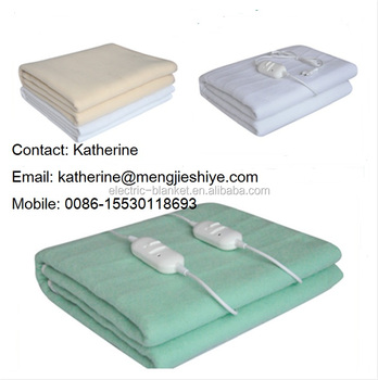 polyester electric heated blankets