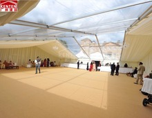 Kenten luxury clear roof wedding party tent