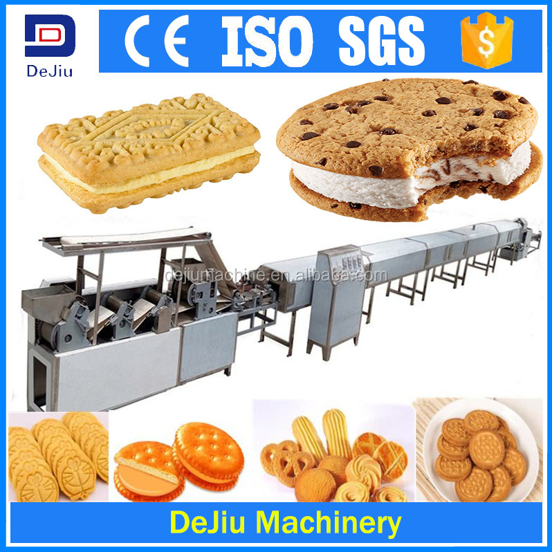 Biscuit sandwich machine/Oreo biscuit making machine/Biscuit machinery