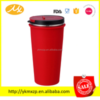 Creative Plastic Travel Mug Car Mug Keep water bottle hot and cold