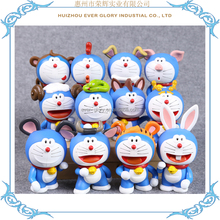 12 styles Chinese Zodiac Doraemon Figurines Toys for Collection