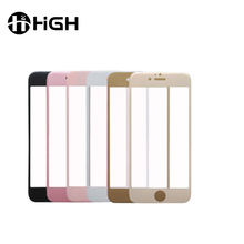 """ 3D full cover carbon fiber soft edge tempered glass screen protector film for iphone 5/ 6/7"