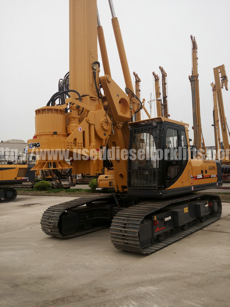 2016 year XCMG XR150 rotary drilling rig for sale