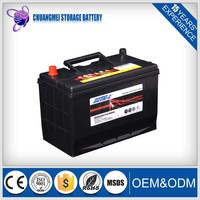 mf 12v 80ah electric jis car battery