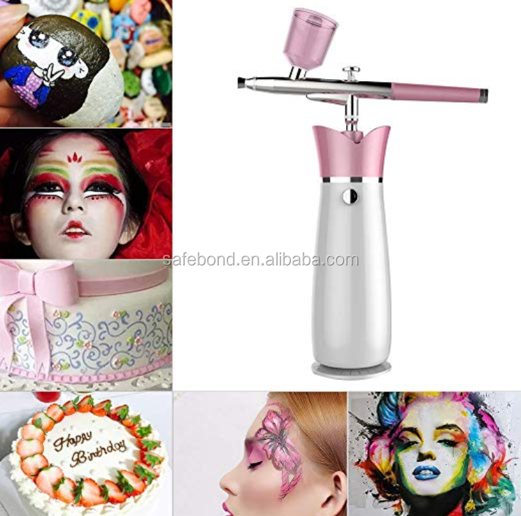 Spray Facial Airbrush Diepe Laag Verjonging Mini Water Zuurstof Spray Machine