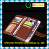 popular design pu leather flip case mobile phone wallet leather case for iphone 6s