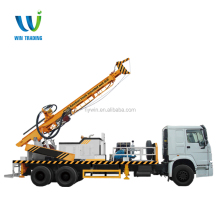 Truck mounted Full Hydrualic Mobile 300m Telescoping Type Water Well Bore Hole Drilling Rig Factory Price