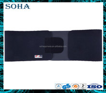 Adjustable comfortable Elastic velcro sport waist belt for back protection